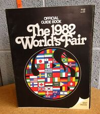 World S Fair Maps 1982 Knoxville Program Tennessee Guide Book Energy Turns World