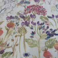 Hedgerow Auturm Designer Linen Curtain/Craft /Upholstery Fabric