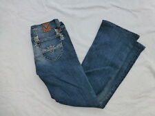 WOMENS SANG REAL BOOTCUT JEANS SIZE 27x29 #W1693