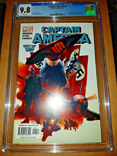 CAPTAIN AMERICA #6 CGC 9.8 WHITE PAGES WINTER SOLDIER FIRST APPEARANCE NEW SLAB