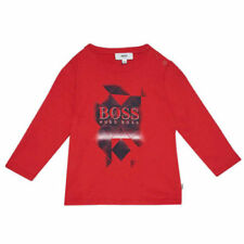 HUGO BOSS Logo 100% Cotton T-Shirts & Tops (2-16 Years) for Boys
