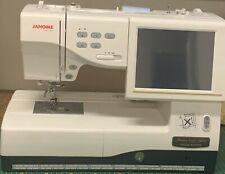 Janome Embroidery And Sewing Machine MC11000 Special Edition Fully Automatic