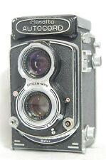 Minolta Autocord TLR Film Camera SN144869 w/Rokkor 75mm F/3.5 *As-Is*