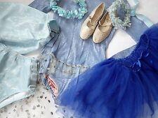 Lot vintage 1950 S 60 S Danse Costumes Childrens Showgirl Fleur Net Paillettes Tiara