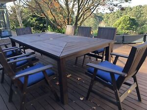 outdoor furniture setting used