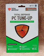 Total Defense PC Tune-Up 3 PC / 1Yr CD Version Speed Up & Optimize Your PC!!!