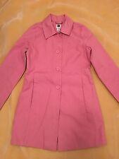 Gap Women's Pink Trench Coat Size XS