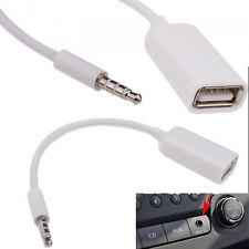 3.5mm Maschio AUX Audio Plug a USB 2.0 una Femmina Jack Adattatore Convertitore OTG Lead