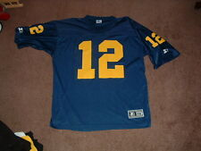 MICHIGAN WOLVERINES #12 REPLICA STARTER FOOTBALL JERSEY 52/X-LARGE