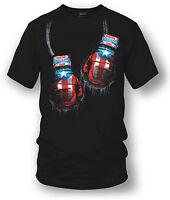 Puerto Rico Boxing Shirt, Puerto Rico Pride - Wicked Metal