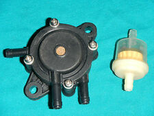 "1/4""  VACUUM FUEL PUMP FILTER RIDING LAWN MOWER GENERATOR YARD MACHINE  MTD G"