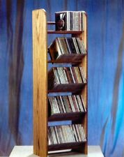 The Wood Shed 504 CD Rack - Clear