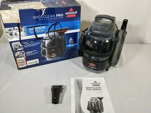 BISSELL SpotClean Pro Portable Carpet Cleaner 3624 - Hardly Used!