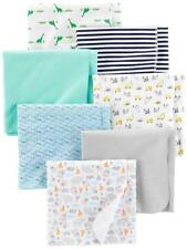 Simple Joys by Carter's Baby Boys' 7-pack Flannel Receiving Blankets One Size