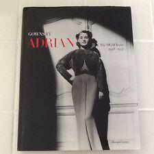 Adrian Bio Fashion Designer Garbo Shearer Crawford Hepburn Hollywood Costumes HC