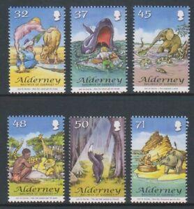 Alderney - 2007, Rudyard Kiplings Just So Stories set - MNH - SG A322/7