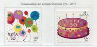 19450) UNITED NATIONS (Vienna) 2001 MNH** Nuovi** UNPA