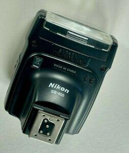 Nikon Speedlight SB-400 Shoe Mount Flash for Nikon NEAR PERFECT
