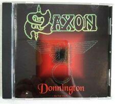 SAXON Live at Donnington 1980 Donnington: The Live Tracks - Mint - FREE Shipping