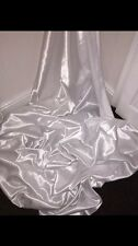 """1 MTR WHITE LINING SATIN FABRIC...58"""" WIDE"""