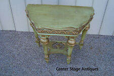 59725 Antique Romantic Shabby Console Table Stand