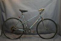 1970 Franche-Comte Jeunet Vintage Mixte Bike 53cm Small France Steel USA Charity