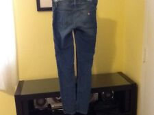woman jeans guess ligth blue size 24
