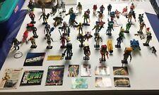 Huge G.I. Joe lot 40 + Figures - Most 100% Complete Hasbro 1985 - 1992