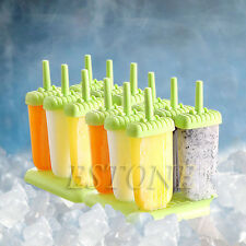 6 Freezer Ice Lolly Cream Juice Maker Pop Mold Mould Popsicle Yogurt Icebox DIY