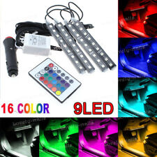 Colorful LED Interior Kit Glow Under Dash Foot Well Seats Inside Light For Benz