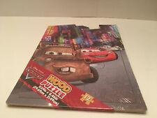 Disney Pixar Cars Wood Puzzle 12 PC Brand New