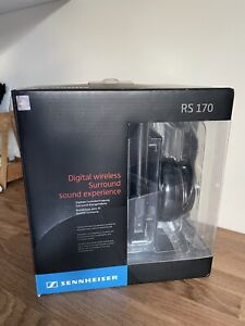 Sennheiser RS170 Headband Wireless Headphones - Black