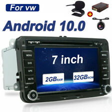 DAB+ ANDROID 10 Car Stereo DVD Radio GPS SatNav for VW Caddy Golf MK6 Passat CC