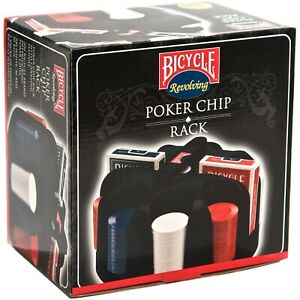 Bicycle Revolving Poker Chip and Card Rack