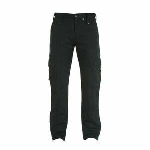 Bull-It SR6 Cargo 17 Easy Jeans Motorcycle Bike Trousers Black - Short Leg