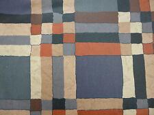 Tischdecke abwaschbar Acrylbeschichtete Tischdecke 120/160 terra-schwarz kariert