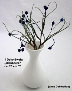1 Deko-Zweig Blaubeere, ca. 25 cm