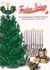 Festive Strings for String Quartet or String Orchestra : Cello by Joanne Martin