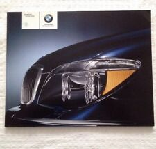 BMW Brochure BMW 2007 7 Series Sedan