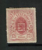 Luxembourg SC# 20, Mint Hinged, Hinge/Page Remnants - S775