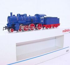 "Marklin AC HO 1:87 German DB P8 ""BADEN"" 1164 Blue STEAM LOCOMOTIVE MIB`90 RARE!"