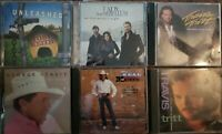 lot of 7 country music cds, Tritt, Strait, Toby Keith, Neil Mccoy,Womack, Lady A