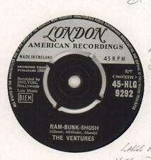 "The Ventures(7"" Vinyl)Ram-Bunk-Shush / Lonely Heart-London-HLG 8292-UK-Ex/VG"