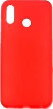 "Funda Carcasa Gel Silicona Rojo Para Huawei Honor Play (4G) 6.3"""