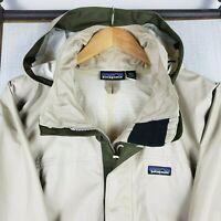PATAGONIA Torrentshell XL Mens Nylon Full Zip Hooded Waterproof Jacket Coat