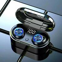 TW80 Bluetooth 5.0 Headset TWS Wireless Earphones Mini Stereo In-Ear Headphones