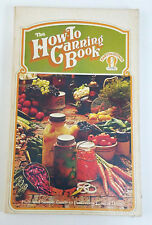 VINTAGE The How-To Canning Book Handbook by Anne Borella (1974, Paperback)