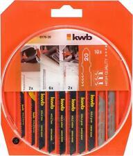 KWB Stichsägeblätter-Set Holz und Metall Einnockenschaft (10 Stück)