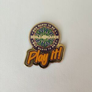 Vintage Disney World MGM Studios Who Wants To Be A Millionaire Play It! Magnet