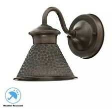 New listing Home Decorators Collection Essen 1-Light Antique Copper Outdoor Wall Lantern